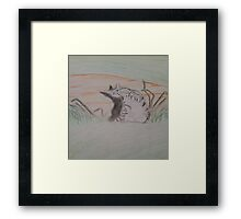 Warriors, FeatherTail Framed Print