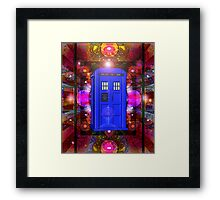 TARDIS IN THE EYE OF ORION 1 Framed Print