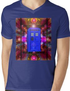 TARDIS IN THE EYE OF ORION 1 Mens V-Neck T-Shirt