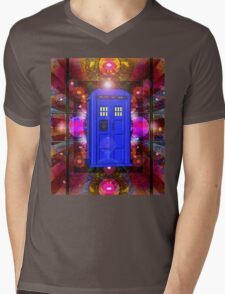 TARDIS IN THE EYE OF ORION 1 Mens V-Neck T-Shirt