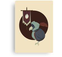 Warrior Bird Canvas Print