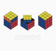 Winning Cubed Kids Tee
