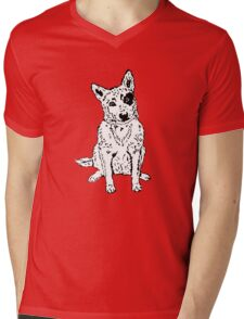 Dawg Mens V-Neck T-Shirt