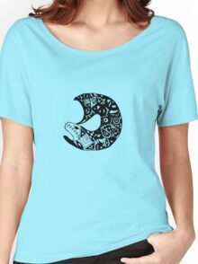 Psychedelic Fish Women's Relaxed Fit T-Shirt