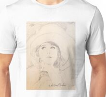 Lillian in Hat Unisex T-Shirt