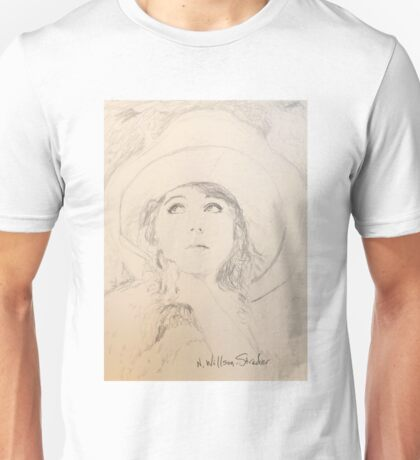 Lillian in Hat Unisex T-Shirt