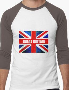 GREAT BRITAIN Men's Baseball ¾ T-Shirt