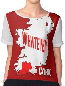 Cork... Whatever... Chiffon Top