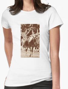 Cattle Drive 19 Womens Fitted T-Shirt