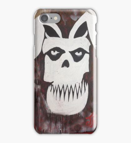 MISFIT BUNNY iPhone Case/Skin