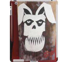 MISFIT BUNNY iPad Case/Skin