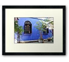 Malaisya ,Penang, Blue Mansion Framed Print