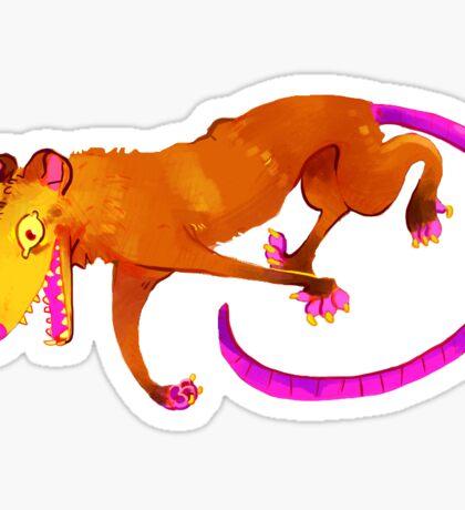 Possum Yel Sticker