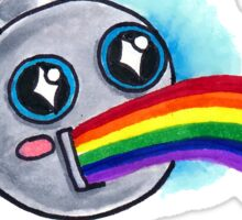 Overflowing Joy Bot Sticker