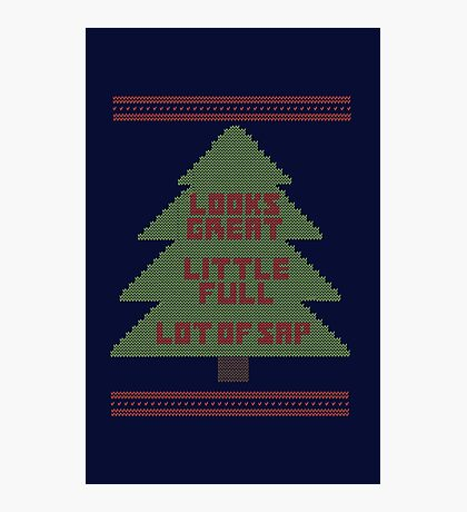 Christmas Vacation Ugly Sweater Photographic Print