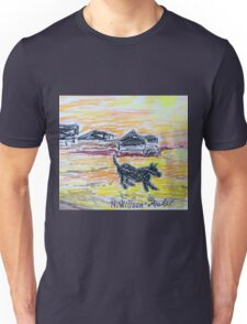 Beach Dog Unisex T-Shirt