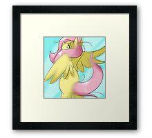 Fluttershy Framed Print