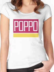 Poppo Mart Women's Fitted Scoop T-Shirt