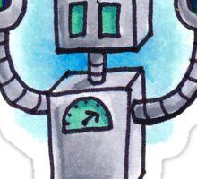 Rainbow Robot Sticker