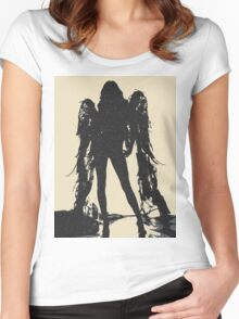 Angel of Death Women's Fitted Scoop T-Shirt
