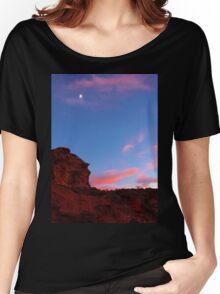 Gold Butte full moon Women's Relaxed Fit T-Shirt