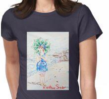 Beach Girl Womens Fitted T-Shirt