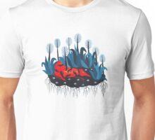 Smug red horse 3. Unisex T-Shirt
