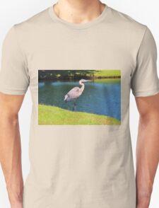 Beautiful Blue Heron Unisex T-Shirt