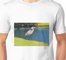 Beautiful Blue Heron Unisex T-Shirt