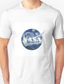 starry night nasa  Unisex T-Shirt