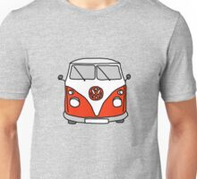 VW camper red Unisex T-Shirt