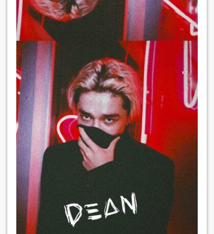 DΞΔN / DEAN- Red Sticker
