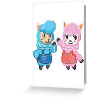Cyrus & Reese Greeting Card