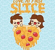 Love At First Slice by ZoeTwoDots