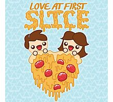 Love At First Slice Photographic Print