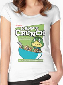 Kapp'n Crunch! Women's Fitted Scoop T-Shirt