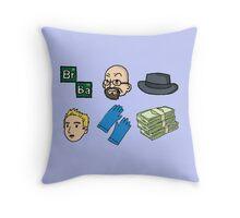 Breaking Bad logo Throw Pillow