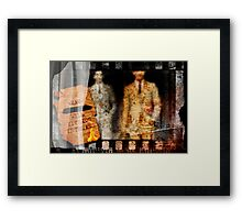 Berlin-Rome-Buenos Aires Framed Print