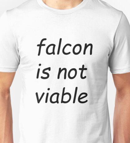 Falcon is not viable - Comic Sans Unisex T-Shirt