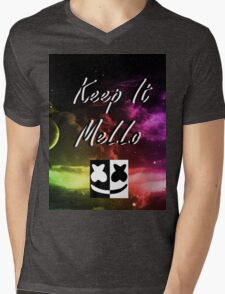 Festival Marshmello kEEp It MeLLo Set Mens V-Neck T-Shirt
