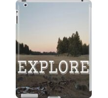 Explore Meadow iPad Case/Skin
