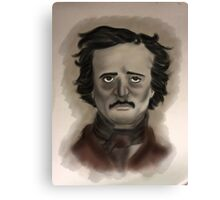 Poe Portrait Canvas Print