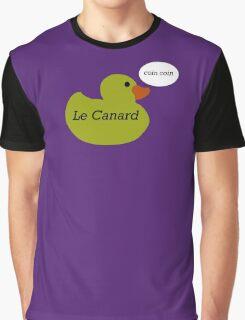 Le Canard Graphic T-Shirt