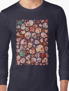 Skull Doodles Long Sleeve T-Shirt
