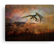 Dracarys - Game of Throne prediction Canvas Print