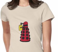 Reading to Destroy the Universe Womens Fitted T-Shirt
