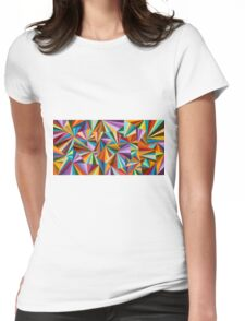 Kaleidoscope eyes like Lucy in the Sky Womens Fitted T-Shirt