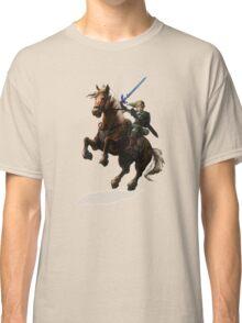 Legend Of Zelda Advanture Link Classic T-Shirt