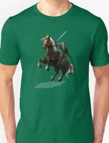 Legend Of Zelda Advanture Link Unisex T-Shirt