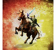 Legend Of Zelda Advanture Link Photographic Print